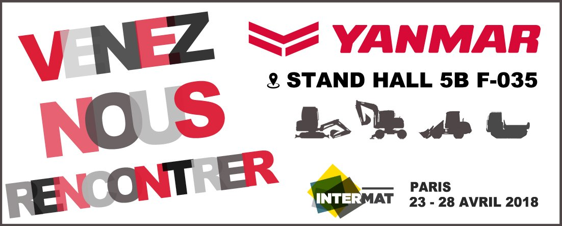 INTERMAT 2018 - ON VOUS Y ATTEND !